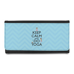 Keep Calm & Do Yoga Leatherette Ladies Wallet