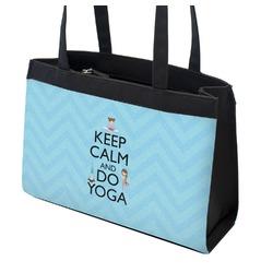 Keep Calm & Do Yoga Zippered Everyday Tote