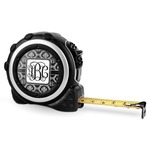 Monogrammed Damask Tape Measure - 16 Ft (Personalized)