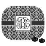 Monogrammed Damask Car Side Window Sun Shade (Personalized)