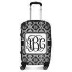 Monogrammed Damask Suitcase (Personalized)
