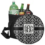 Monogrammed Damask Collapsible Cooler & Seat (Personalized)