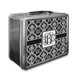 Monogrammed Damask Lunch Box (Personalized)