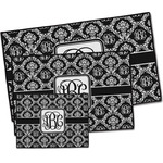 Monogrammed Damask Door Mat (Personalized)