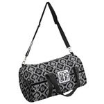 Monogrammed Damask Duffel Bag (Personalized)