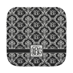 Monogrammed Damask Face Towel (Personalized)