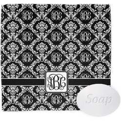 Monogrammed Damask Wash Cloth (Personalized)