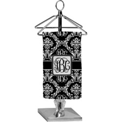 Monogrammed Damask Finger Tip Towel - Full Print (Personalized)