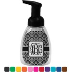 Monogrammed Damask Foam Soap Dispenser (Personalized)