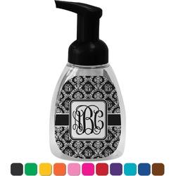 Monogrammed Damask Foam Soap Dispenser (Personalized)