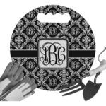 Monogrammed Damask Gardening Knee Cushion (Personalized)