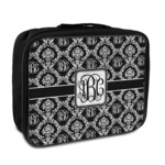 Monogrammed Damask Insulated Lunch Bag (Personalized)