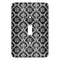 Monogrammed Damask Light Switch Covers (Personalized)