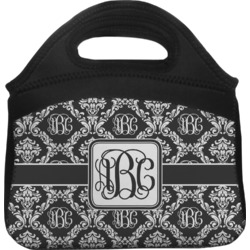 Monogrammed Damask Lunch Tote (Personalized)