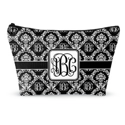 Monogrammed Damask Makeup Bags (Personalized)