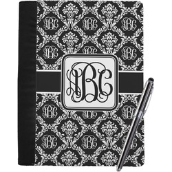 Monogrammed Damask Notebook Padfolio (Personalized)