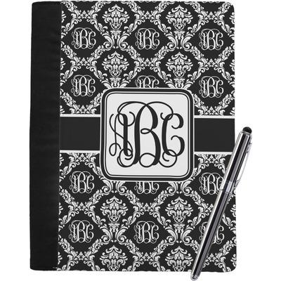 Monogrammed Damask Notebook Padfolio (Personalized)