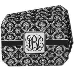Monogrammed Damask Dining Table Mat - Octagon