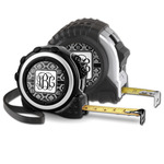 Monogrammed Damask Tape Measure