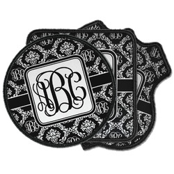Monogrammed Damask Iron on Patches