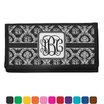 Monogrammed Damask Checkbook Cover (Personalized)