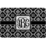 Monogrammed Damask Comfort Mat (Personalized)