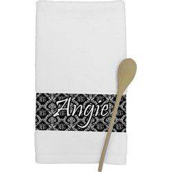 Monogrammed Damask Kitchen Towel (Personalized)