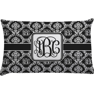 Monogrammed Damask Pillow Case (Personalized)