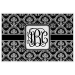 Monogrammed Damask Placemat (Laminated) (Personalized)