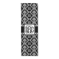 Monogrammed Damask Runner Rug - 3.66'x8' (Personalized)
