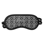 Monogrammed Damask Sleeping Eye Mask (Personalized)
