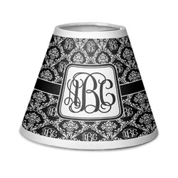 Monogrammed Damask Chandelier Lamp Shade (Personalized)