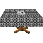 Monogrammed Damask Tablecloth (Personalized)