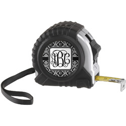 Monogrammed Damask Tape Measure (25 ft)