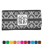Monogrammed Damask Ladies Wallet (Personalized)
