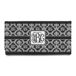 Monogrammed Damask Leatherette Ladies Wallet (Personalized)