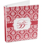 Damask 3-Ring Binder (Personalized)