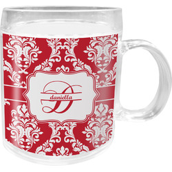 Damask Acrylic Kids Mug (Personalized)