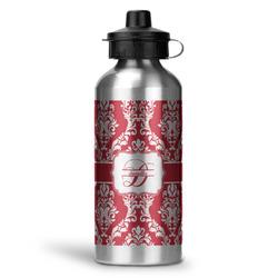 Damask Water Bottle - Aluminum - 20 oz (Personalized)