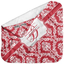 Damask Baby Hooded Towel (Personalized)