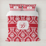 Damask Duvet Cover (Personalized)