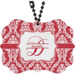 Damask Rear View Mirror Charm (Personalized)