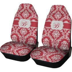 Damask Car Seat Covers (Set of Two) (Personalized)