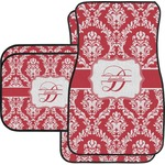 Damask Car Floor Mats (Personalized)