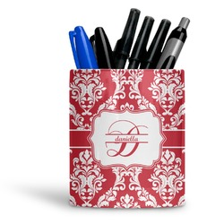 Damask Ceramic Pen Holder