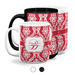 Damask Coffee Mugs (Personalized)