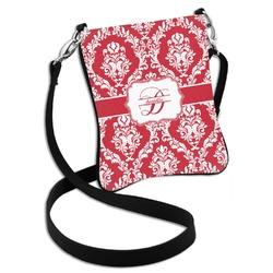 Damask Cross Body Bag - 2 Sizes (Personalized)