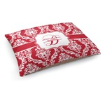 Damask Dog Pillow Bed (Personalized)