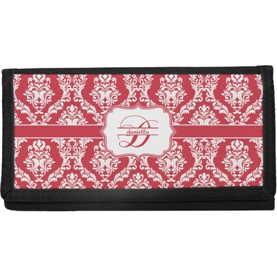Damask Canvas Checkbook Cover (Personalized)