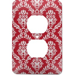Damask Electric Outlet Plate (Personalized)